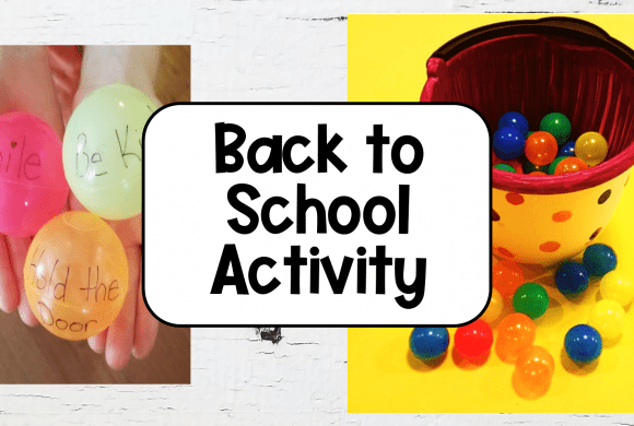 Best Back to School Kindness Activity for Kids
