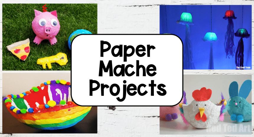 17 Best Paper Mache Art Ideas for Kids